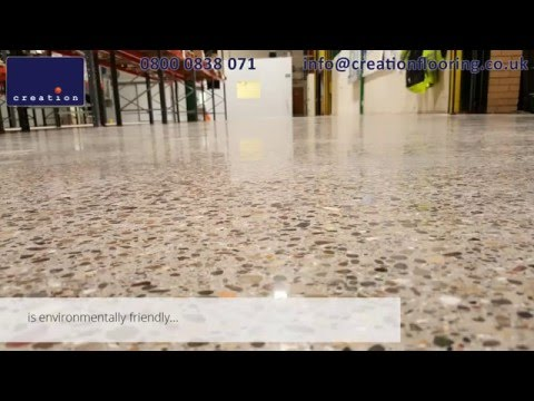 Polished Concrete step by step