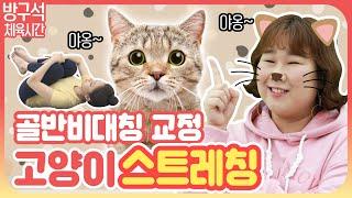 [운동뚱과 함께하는 방구석 체육시간] 18회 : 소중한 1cm찾아주는 고양이 스트레칭