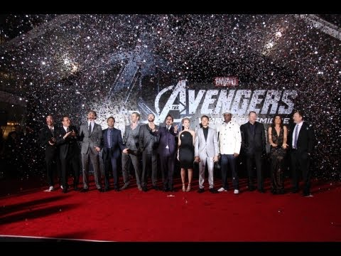 Marvel's The Avengers Red Carpet World Premiere | MTW