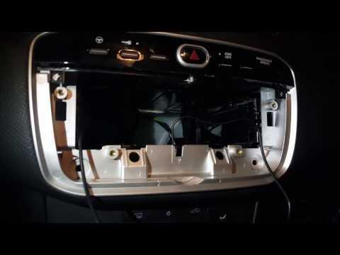 Tutorial come smontare l  autoradio originale e montarne una android su Fiat punto evo /Fiat punto