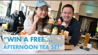 WIN A FREE TEA AFTERNOON TEA SET FOR TWO @ CAFE CLAIRE AT ORIENTAL RESIDENCE ON WIRELESS ROAD BANGKO