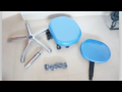 TR-012 Dental Medical Office Stools Assistant's Stools Adjustable Mobile Chair PU - Treedental