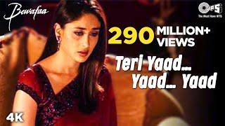 Teri Yaad Yaad Yaad - Video Song | Bewafaa | Anil Kapoor
