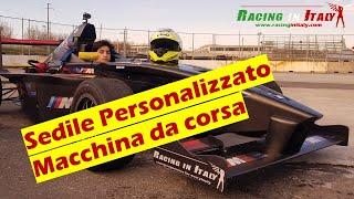 come creare un sedile personalizzato racing per macchine da corsa e Formula