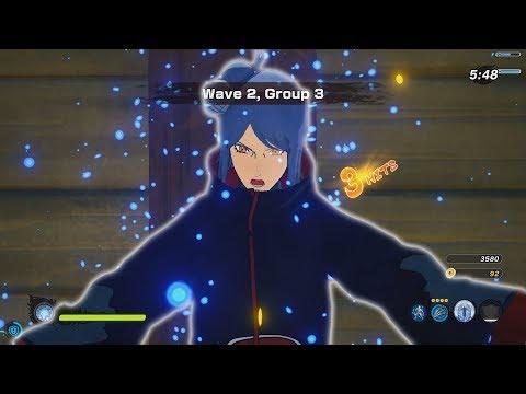 Naruto to Boruto Shinobi Striker PC - Konan Online Coop Gameplay 1080p 60  FPS - wajinshu