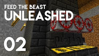 ►FTB Unleashed: ORE PROCESSING! (Episode 2)◄