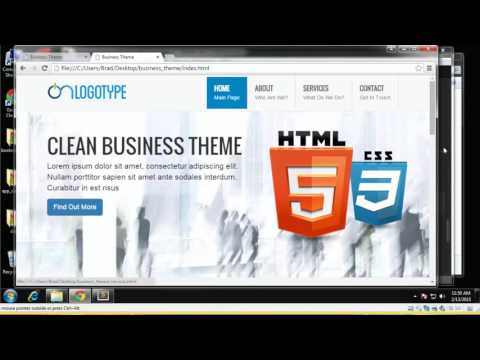 Learn How to Build a Business Theme Using Bootstrap - Part 8