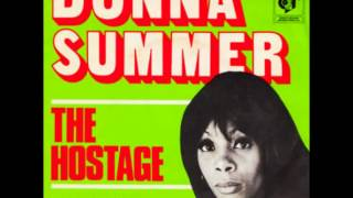 DONNA SUMMER - THE HOSTAGE / LETS WORK TOGETHER NOW - GROOVY GR 1207 - 1974 -  NETHERLANDS