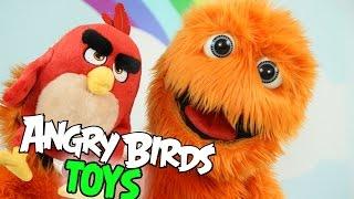 Angry Birds Movie Toys & Surprise Kinder Bugs Bunny Marvel Avengers Huevos Sorpresa for kids
