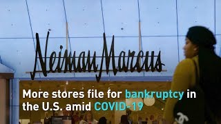 More stores file for bankruptcy in the U.S. amid COVID-19