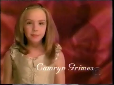 2001 INTRO: Yng-Rsl - Camryn Grimes as young Cassie Newman