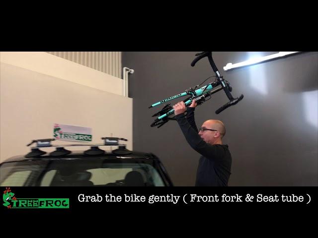 Видео Крепление на крышу Tree Frog Model Pro 2/20 Bike Cycle Carrier Rack