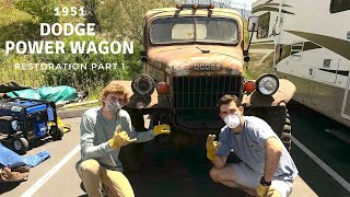 I BOUGHT A 1951 DODGE POWER WAGON - Restoration Part 1