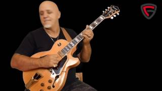 Frank Gambale Guitar Free Spirit Performance Video