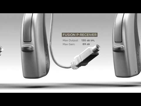 FUSION wireless hearing aid from Widex