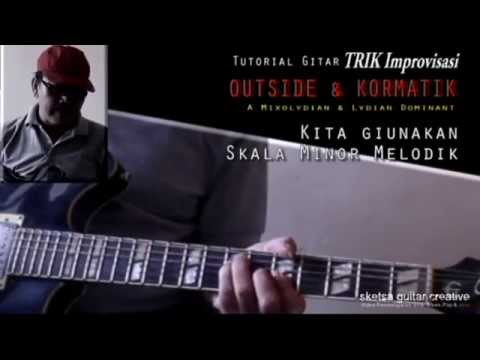 Tutorial Gitar : OUTSIDE & KORMATIK. A Mixolydian & A Lydian Dominant. Mp3