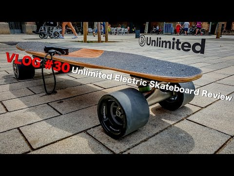 VLOG #30: Unlimited Electric Skateboard review