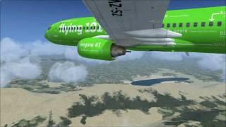 Kulula.com 737-800 Flight from Johannesburg to Cape Town