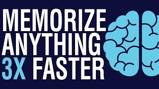 HOW TO MEMORIZE ANYTHING | HOW TO REMEMBER THINGS EASILY
