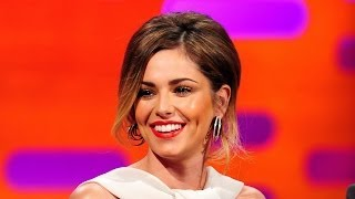 The Making Of CHERYL COLEs Giant Tattoo - The Graham Norton Show On BBC AMERICA