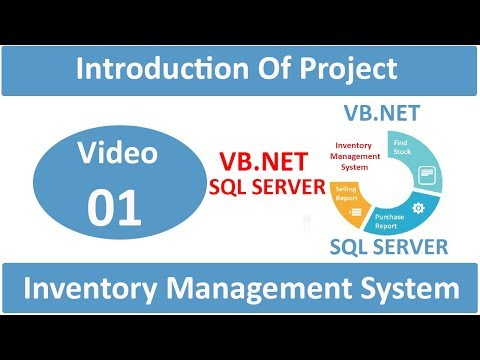 introduction of vb.net inventory management system