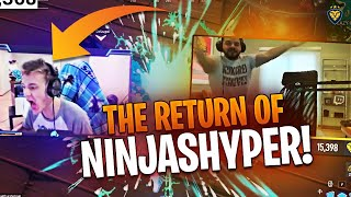 THE RETURN OF NINJASHYPER?! THINGS GOT TOXIC! (Fortnite: Battle Royale)
