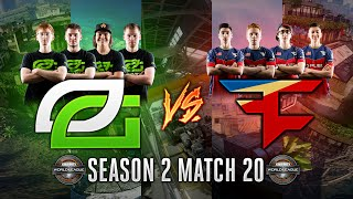 Black Ops 3 CWL - Season 2 Match 20  - OpTic vs. FaZe