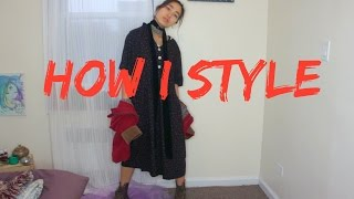 How I Style: A Loose Fitting Dress 🍒  Outfits 