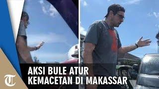 Viral Video Bule Atur Kemacetan di Makassar, Ini Penjelasan Polisi
