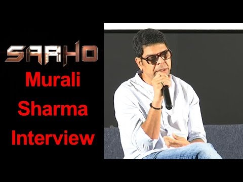 Murali Sharma Interview About Saaho
