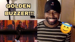 Simon Cowell Golden Buzzer 😱Tyler Butler- Figueroa | America's Got Talent (Reaction)