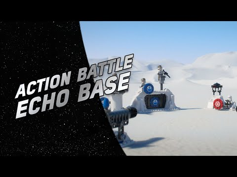 Vidéo LEGO Star Wars 75241 : Action Battle La défense de la base Echo