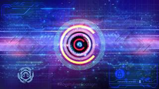 technology background video | high tech background | Artificial Intelligence | cyber security video