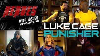 LUKE CAGE & PUNISHER  in Therapy over Netflix Defenders? Jessica Jones season 2