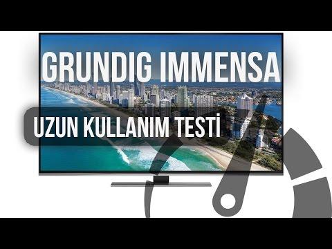 Grundig Immensa: Uzun Kullanım Testi