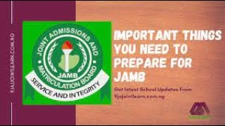 FIVE KEY THINGS YOU NEED TO KNOW BEFORE JAMB REGISTRATION 2021 | #JAMB 2021 FORM AND REGISTRATION