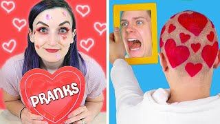 Trying Terrible Troom Troom VALENTINE'S DAY COUPLE PRANKS