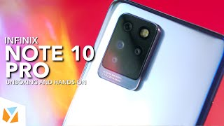 Infinix Note 10 Pro Unboxing and Hands-On