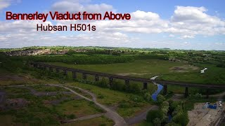 Bennerley Viaduct From Above - Hubsan H501s