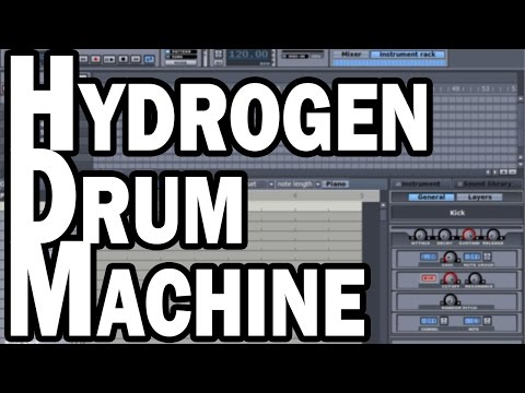 Hydrogen Drum Machine - Free Drum Programming for Windows, Mac, and Linux