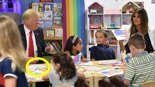 Presiden Donald Trump Salah Memberi Warna Bendera Amerika Serikat