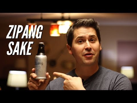 Zipang Sparkling Sake Wine Review