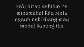 Paano Na Ang Puso Ko-Bugoy Drilon [ LYRICS ]