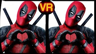 3D Deadpool - VR Virtual Reality Vídeo Google Cardboard VR Box