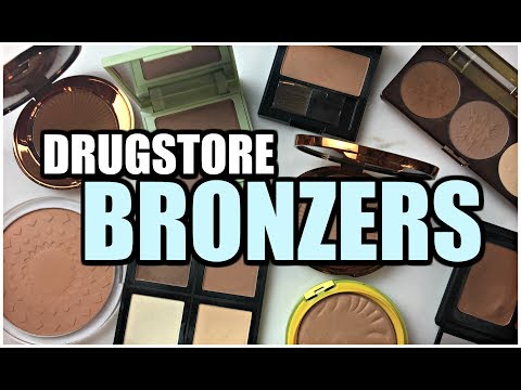 DRUGSTORE BRONZER COLLECTION | Mini-Reviews & Swatches