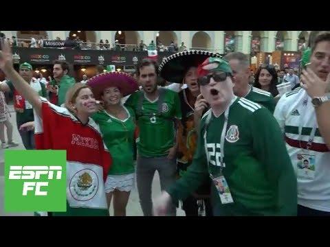 Mexican fans go wild as South Korea scores key goal vs. Germany | ESPN FC