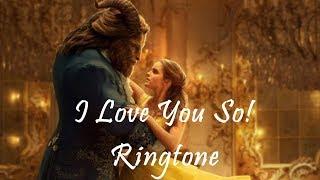 Ringtone  |  I Love You So