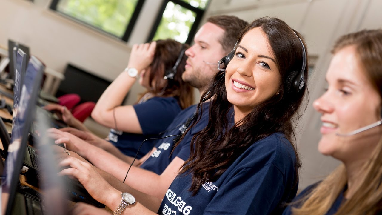 University of Derby Clearing hotline on a-level results day