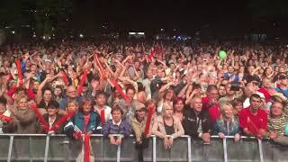 SARAGOSSA BAND Hungary Miskolc - 09.09.2017 Audience sings ZABADAK