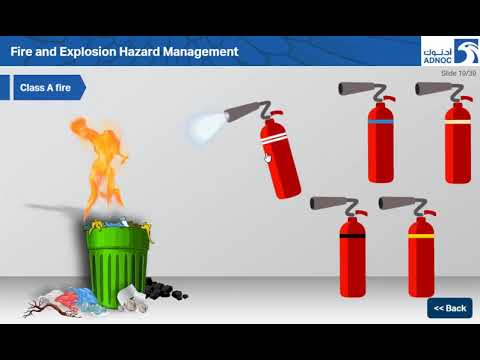 Fire and Explosion Hazard Management